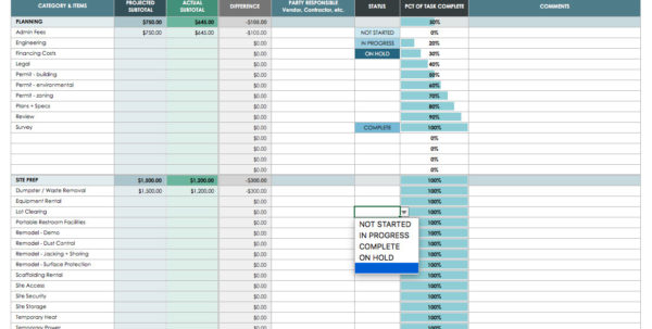 Home Building Cost Breakdown Spreadsheet Regarding Construction Cost Spreadsheet Template Then Construction Loan Cost