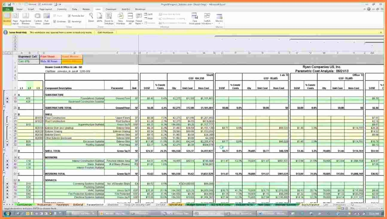 Home Building Cost Spreadsheet Intended For Building Constructiontimate Xls India New House Budget Spreadsheet