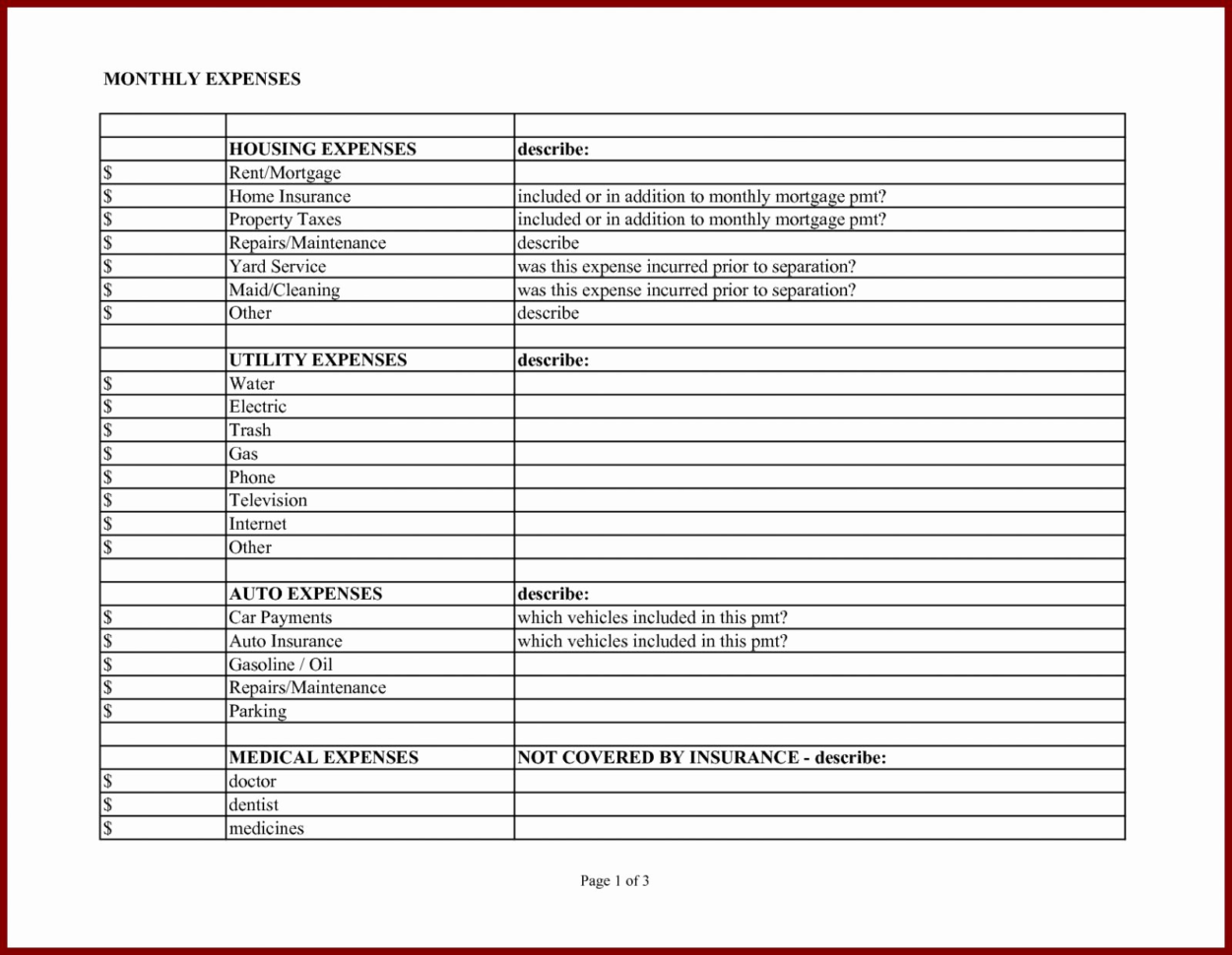 Home Business Expense Spreadsheet Inside Business Expense Template Excel Free Sample Pdf Home Business