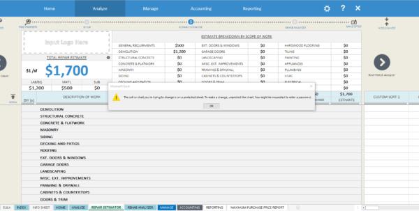 Home Flipping Spreadsheet In Protected Workbook Password Prompt – Houseflippingspreadsheet