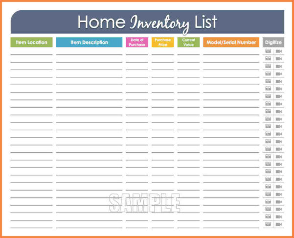 Home Inventory Spreadsheet With Household Inventory Spreadsheet 2018 Rocket League Spreadsheet