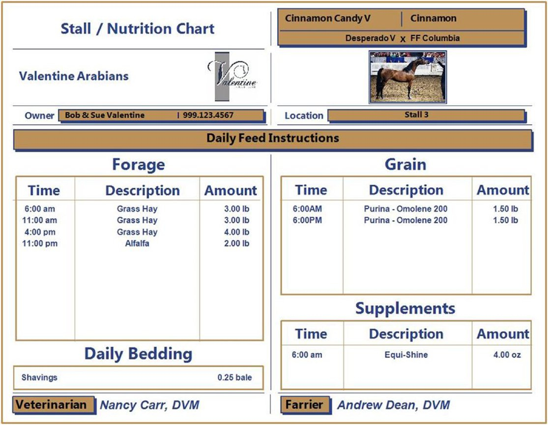 Horse Boarding Spreadsheet Intended For Blog  Equine Genie  Horse Business Management Software