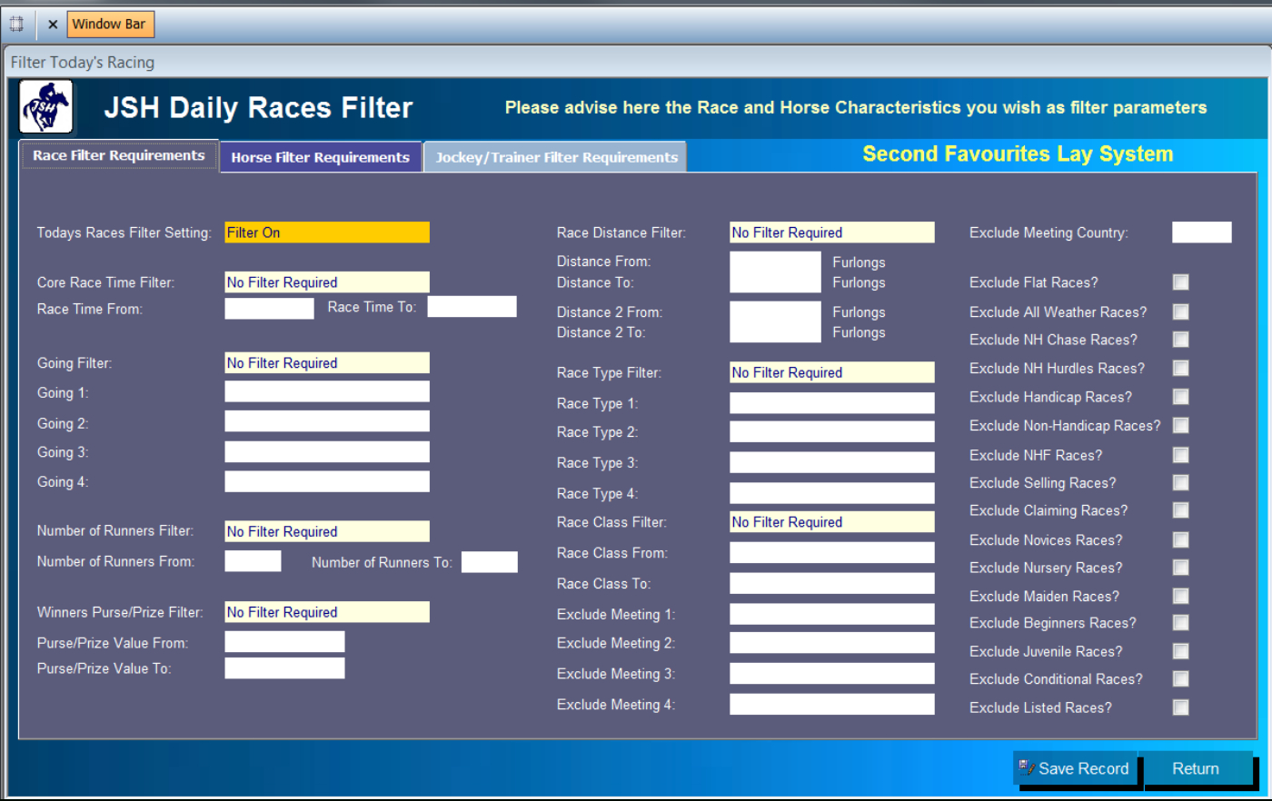 Horse Racing Analyser Spreadsheet With Regard To Free Horse Racing Software Uk And Ire Information And Videos