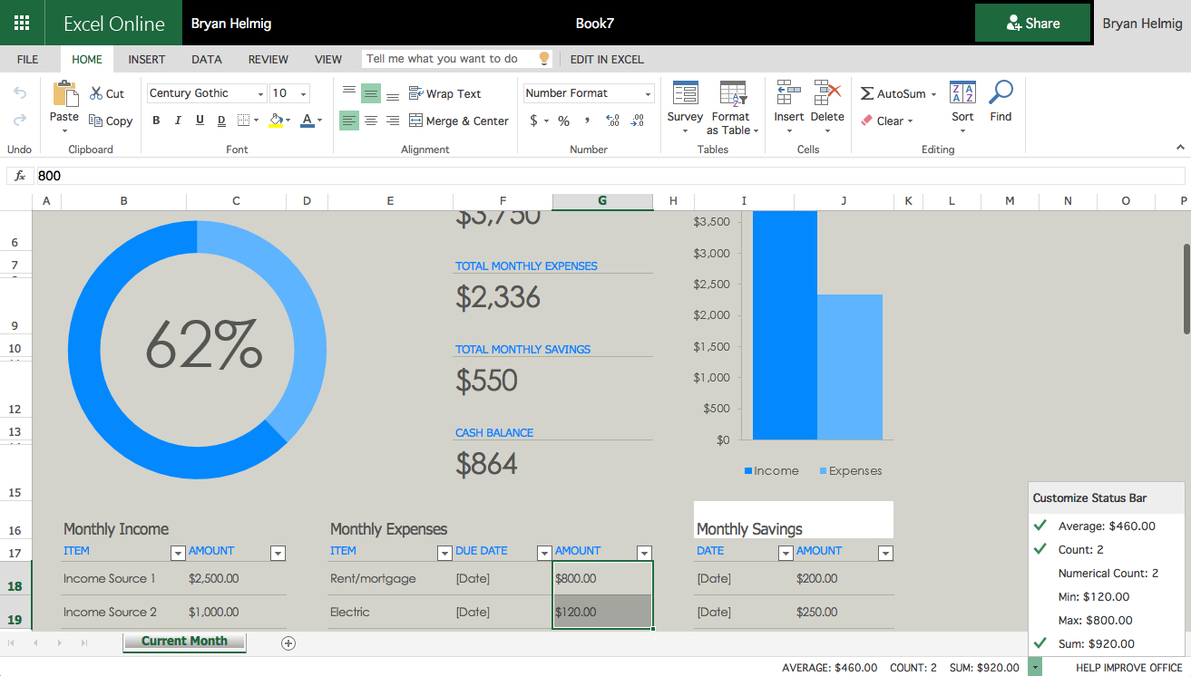 Host Excel Spreadsheet Online Inside The 6 Best Office Suites For Your Documents, Spreadsheets, And