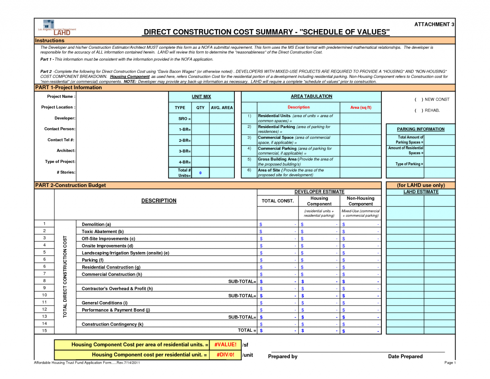 Hotel Construction Budget Spreadsheet Google Spreadshee ...