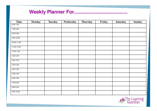 Hourly Spreadsheet Regarding Daily Hourly Planner Template Excel Awesome 15 Awesome Schedule