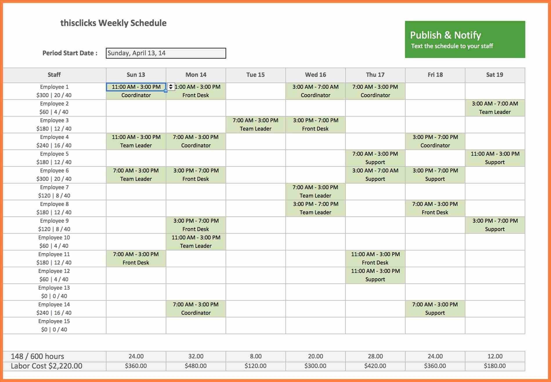 Hourly Time Tracking Spreadsheet Throughout Hourly Schedule Template Excel Fresh Labor Hour Tracking Spreadsheet