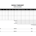 Hourly Time Tracking Spreadsheet with regard to Free Time Tracking Spreadsheets  Excel Timesheet Templates