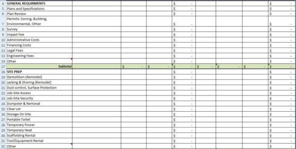 House Building Budget Spreadsheet Pertaining To House Building Budget Spreadsheet Onlyagame