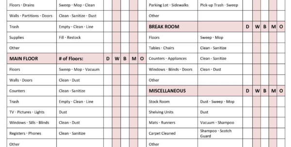 House Cleaning Pricing Spreadsheet For House Cleaning Pricing Spreadsheet  Awal Mula