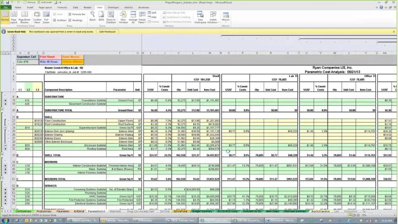 House Construction Cost Spreadsheet With Regard To Residential Construction Cost Estimate Spreadsheet