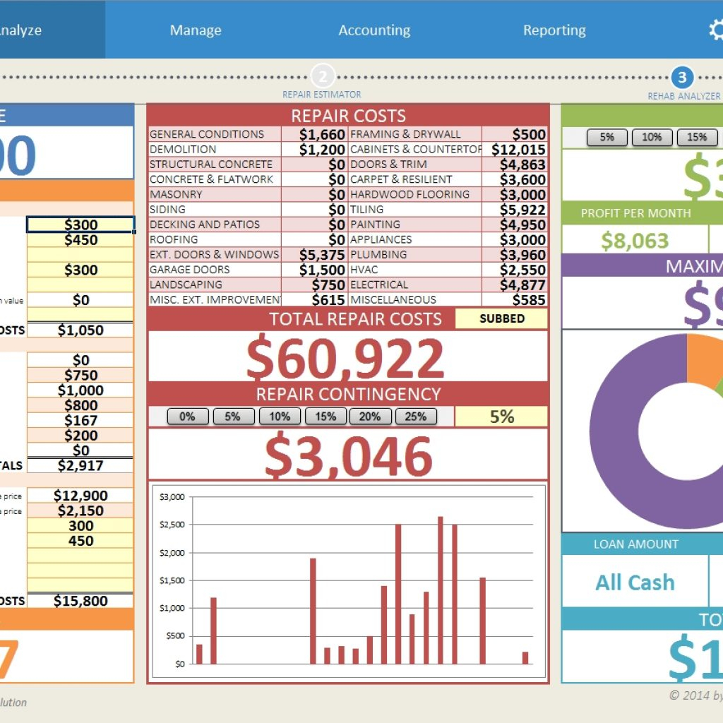 House Flipping Spreadsheet Download In House Flipping Spreadsheet  Download Within House Flipping