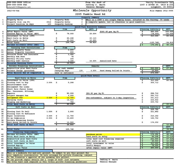 House Flipping Spreadsheet Free Download For House Flipping Spreadsheet Xls New House Flipping Spreadsheet 3