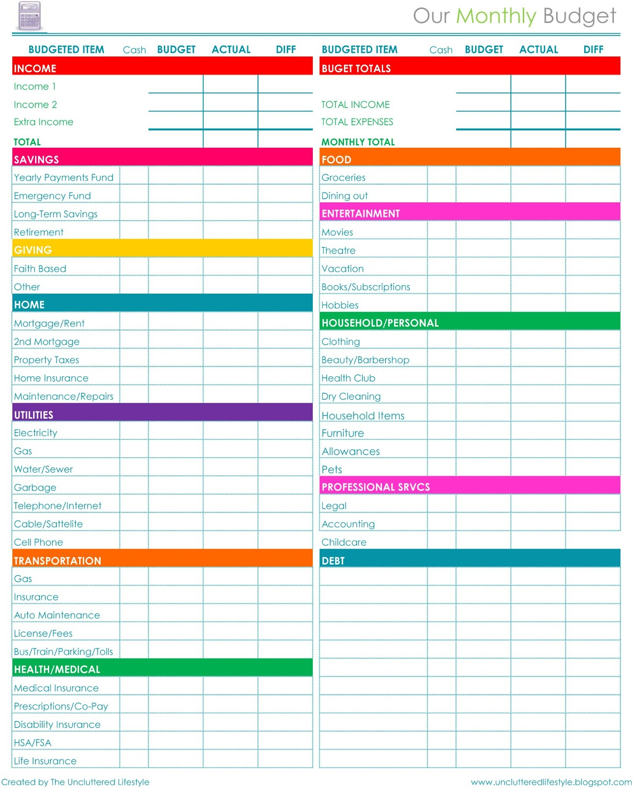 Household Bills Spreadsheet Uk With Personal Monthly Budget Template Fresh Personal Monthly Budget Excel