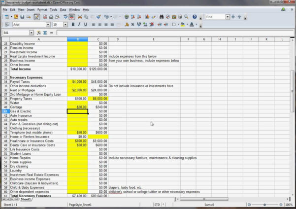 Household Budget Spreadsheet Excel Intended For Sample Home Budget Worksheet Fresh Spreadsheet Family Bud Excel