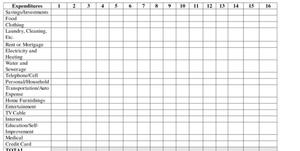Household Spreadsheet With Regard To Monthly Spreadsheets Household Budgets And Excel Spreadsheet For