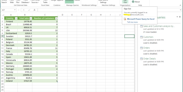 How Can I Share An Excel Spreadsheet Throughout Sharing And Discovering Queries Using Power Query And Power Bi