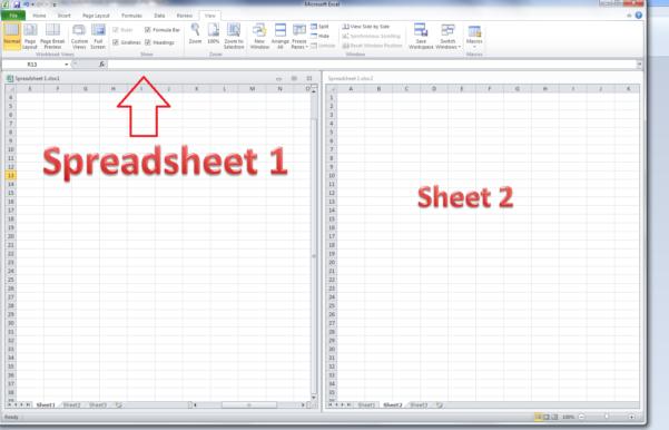 How Do I Do An Excel Spreadsheet Intended For How Do I View Two Excel Spreadsheets At A Time?  Libroediting