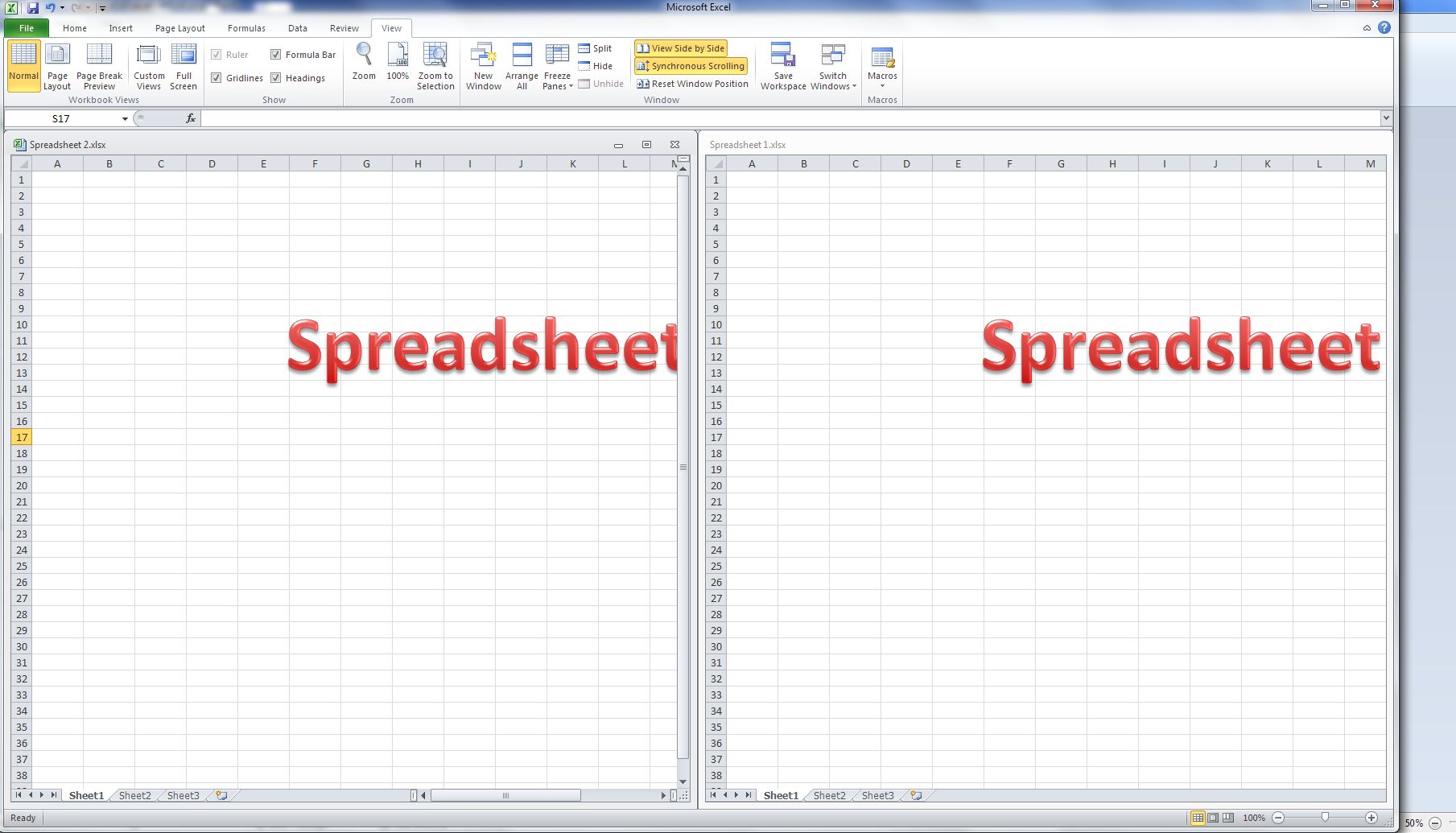 How Do I Do An Excel Spreadsheet With Regard To How Do I View Two Excel Spreadsheets At A Time?  Libroediting
