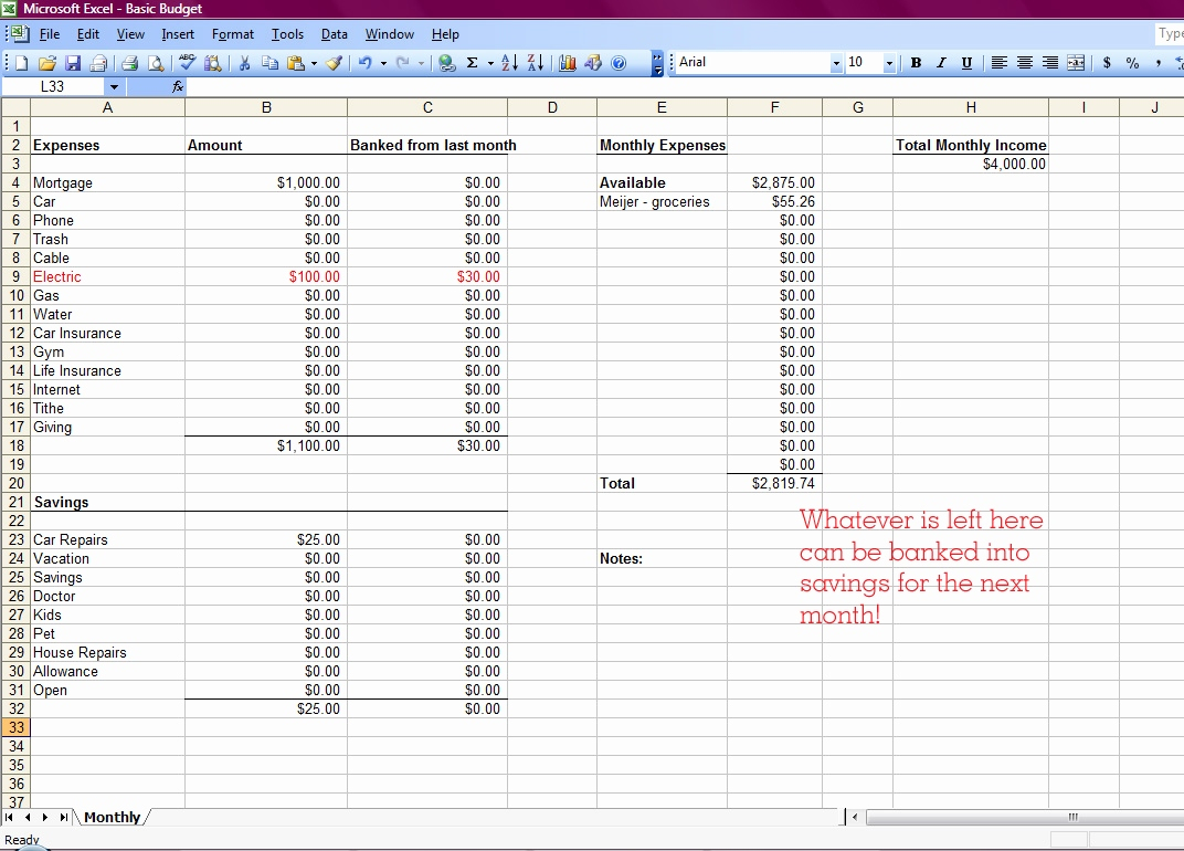 How Do I Make A Budget Spreadsheet On Excel With Regard To How To Make Budget Spreadsheet In Google Sheets Home Excel Create