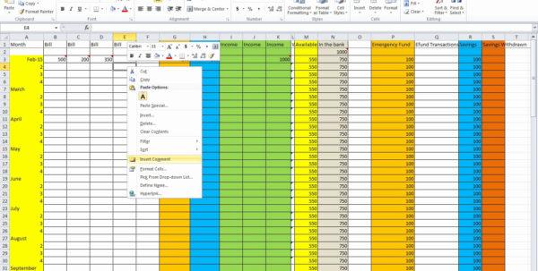 How Do I Make A Budget Spreadsheet Regarding How Do I Make Budget Spreadsheet To Worksheet In Excel Create