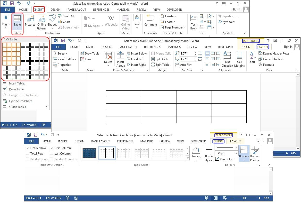 How Do I Make A Spreadsheet In Word Intended For How To Create Tables In Microsoft Word  Pcworld