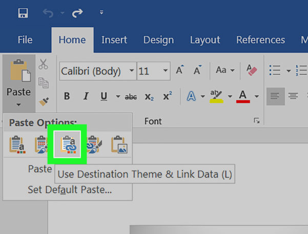 How Do I Make A Spreadsheet In Word Regarding How To Convert Excel To Word: 15 Steps With Pictures  Wikihow