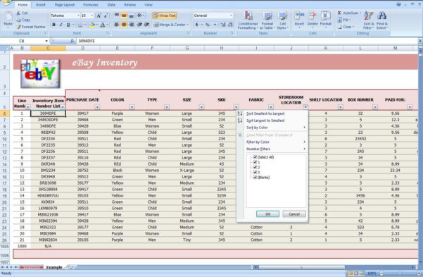 How Do I Make An Inventory Spreadsheet Regarding Retail Store Inventory Template  Rent.interpretomics.co