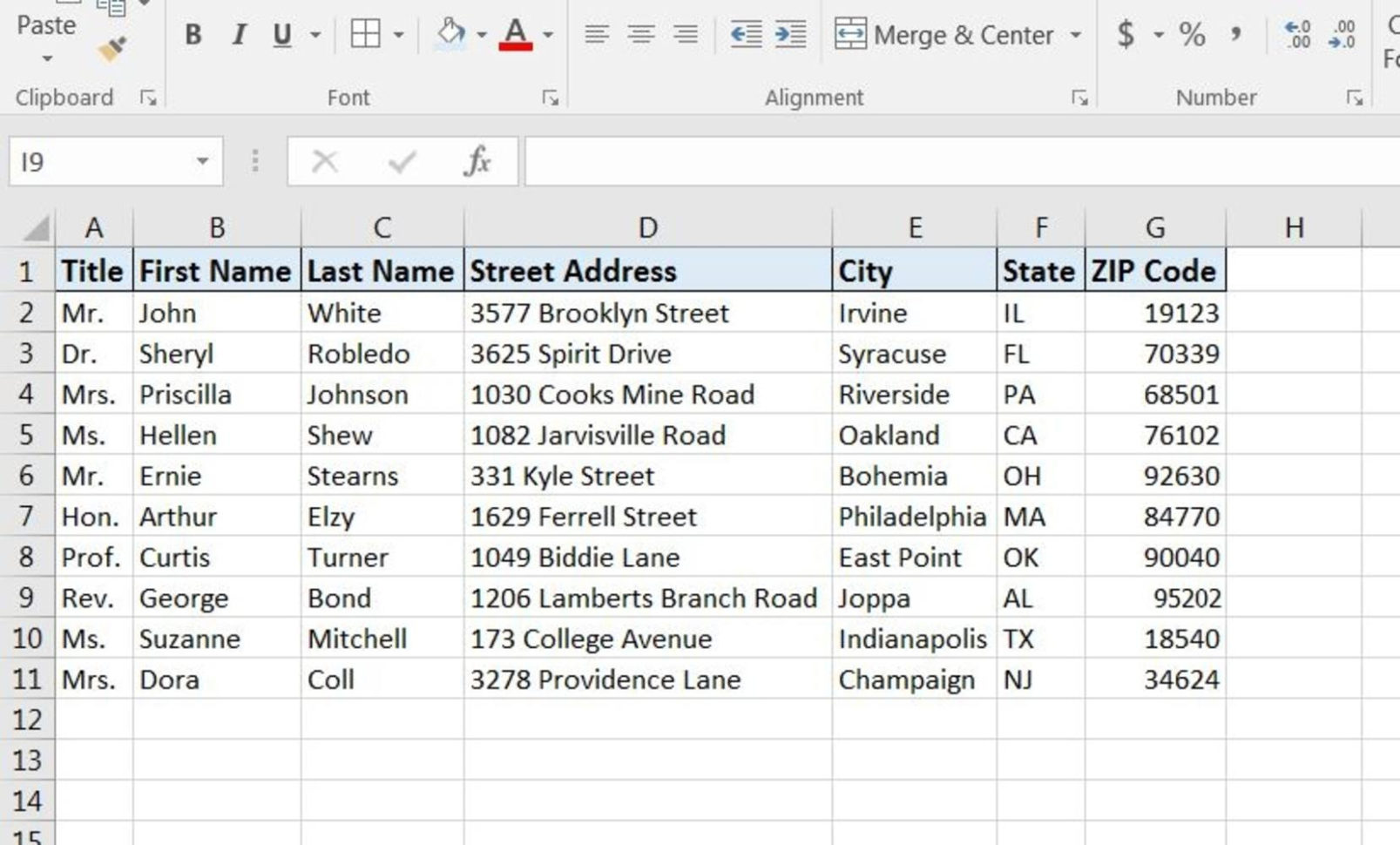 How Do I Print Labels From An Excel Spreadsheet For How To Print Labels From Excel