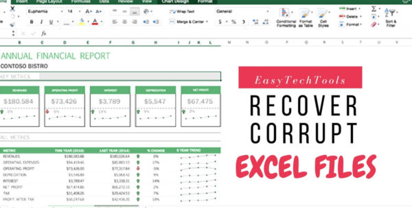How Do I Recover An Excel Spreadsheet Intended For How To Recover Excel Files From Usb/pen Drive L Easytechtools