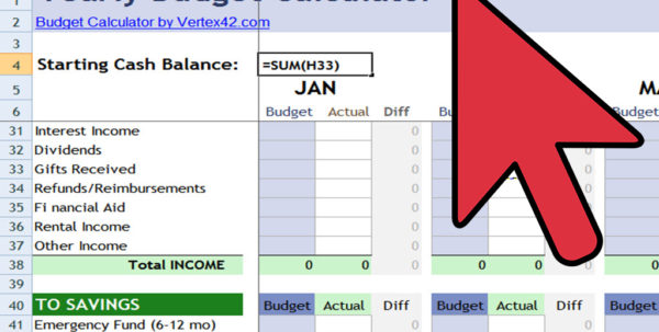 How Do I Set Up An Excel Spreadsheet Within How To Create An Excel Financial Calculator: 8 Steps