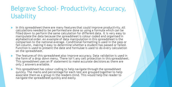 How Do Spreadsheets Improve Productivity For Spreadsheet Analysiscatherine George.  Ppt Video Online Download
