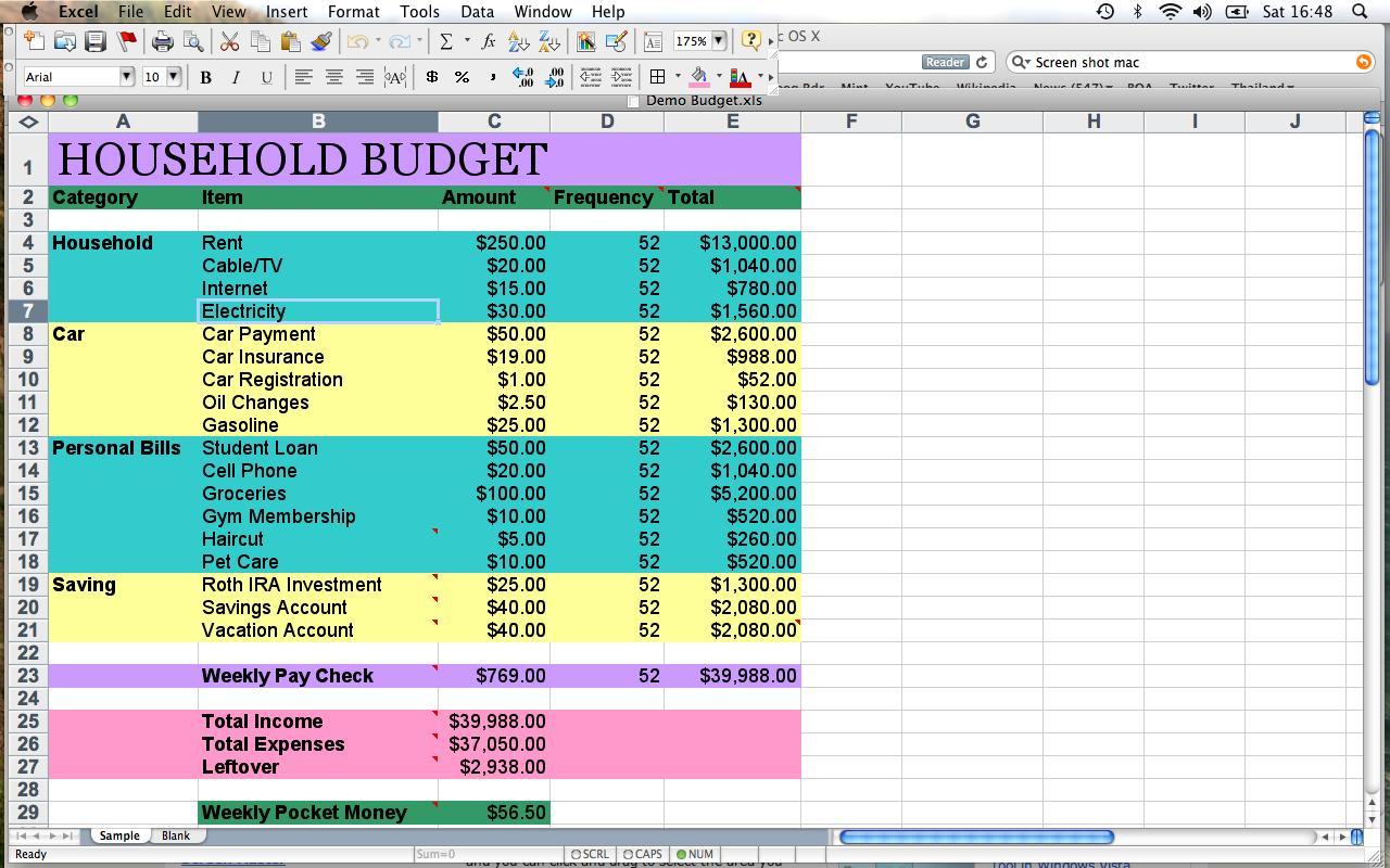 How Do You Make A Budget Spreadsheet Regarding Home Budget Spreadsheet How To Make A Home Budget Spreadsheet Excel