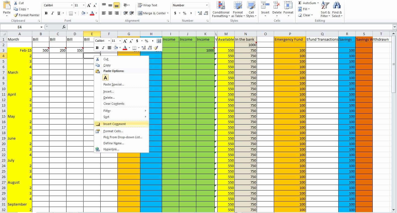 How Do You Make A Budget Spreadsheet Throughout How Do I Make Budget Spreadsheet To Worksheet In Excel Create
