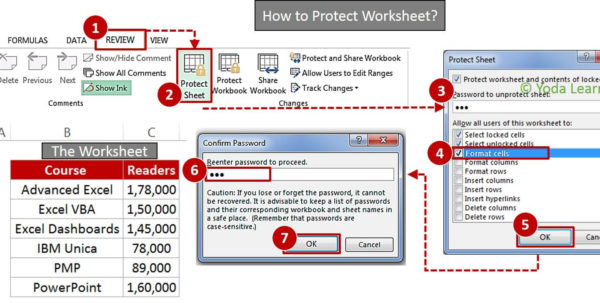 How Do You Password Protect An Excel Spreadsheet Intended For Learn How To Lock Cells In Excel  How To Create Password Protect Excel?