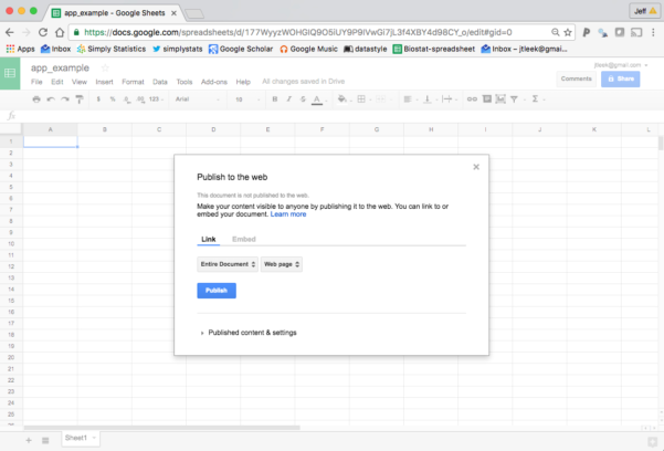 """How Do You Use Google Spreadsheets Regarding How To Create A Free Distributed Data Collection """"app"""" With R And"""