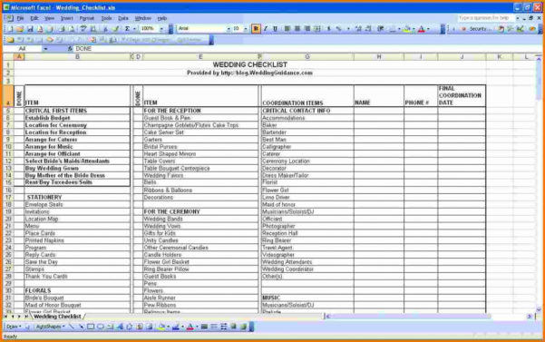 How To Budget For A Wedding Spreadsheet Throughout Wedding Budget Excel Spreadsheet Wedding Spreadsheet Template