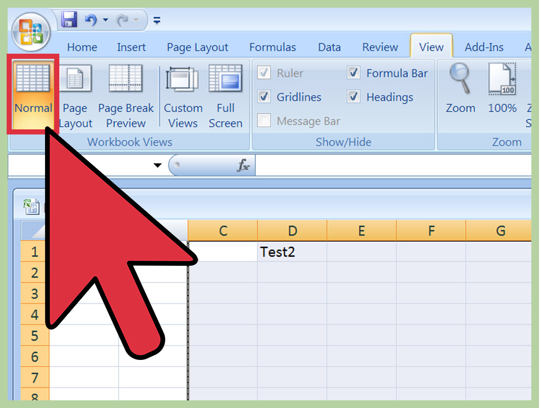 How To Build An Excel Spreadsheet Inside How To Insert A Page Break In An Excel Worksheet: 11 Steps