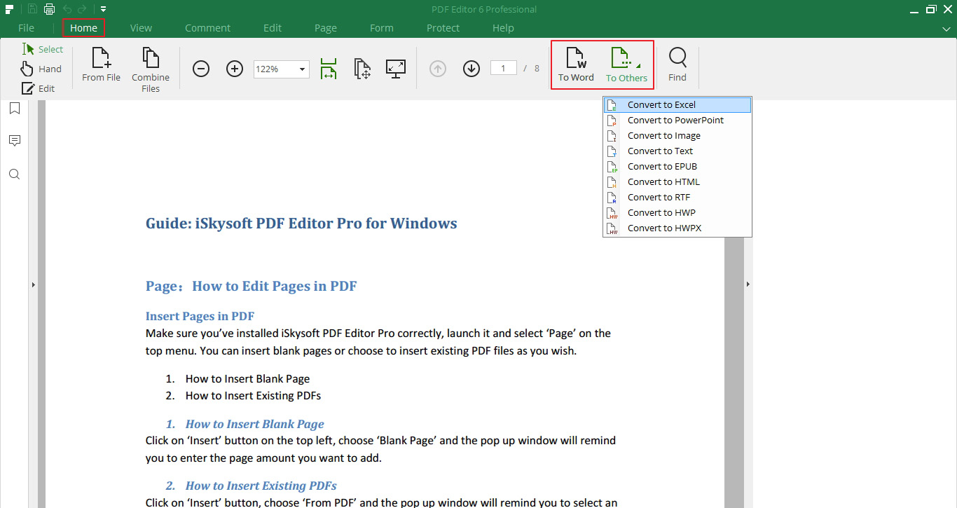 How To Change Pdf To Excel Spreadsheet In How To Convert Pdf To Html, Or Convert Html To Pdf