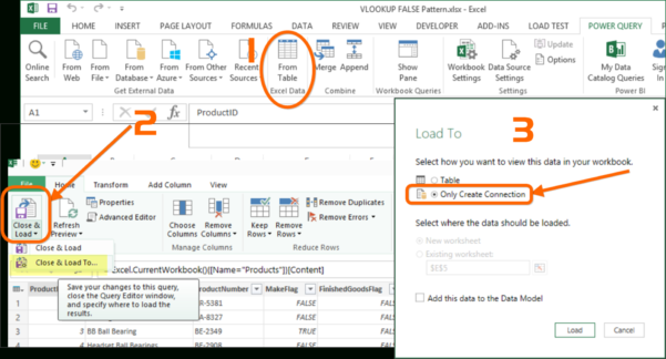 How To Combine Excel Spreadsheets In How To Merge Tables In Power Query