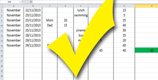 How To Create A Budget Spreadsheet Using Excel In How To Build A Budget Spreadsheet Teenagers: 13 Steps