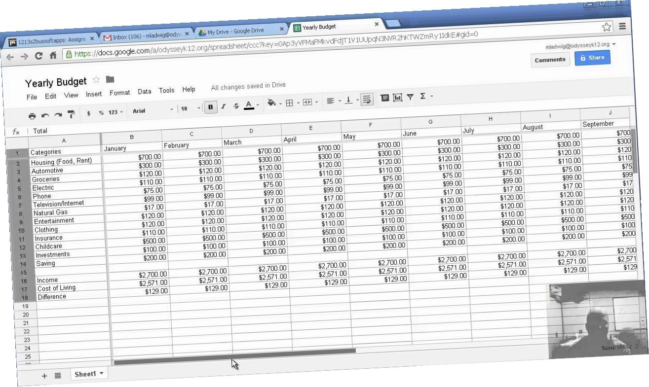 How To Create A Budget Spreadsheet Using Excel Inside How To Make A Business Budget 5Gsr How To Create Budget Spreadsheet