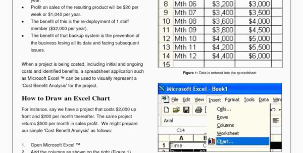How To Create A Cost Analysis Spreadsheet For 30 New Cost Benefit Analysis Template Excel Simple  Best Popular