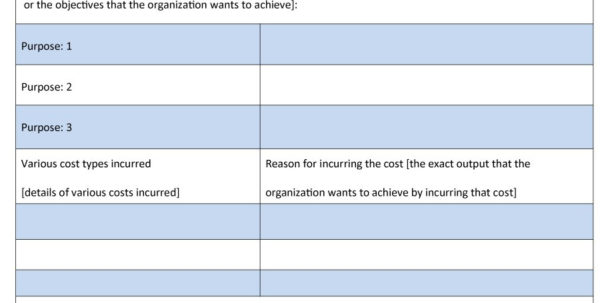 How To Create A Cost Analysis Spreadsheet Intended For 40  Cost Benefit Analysis Templates  Examples!  Template Lab