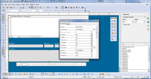 How To Create A Database In Openoffice From Spreadsheet Intended For Apache Openoffice 4.0 Review: New Features, Easier To Use, Still