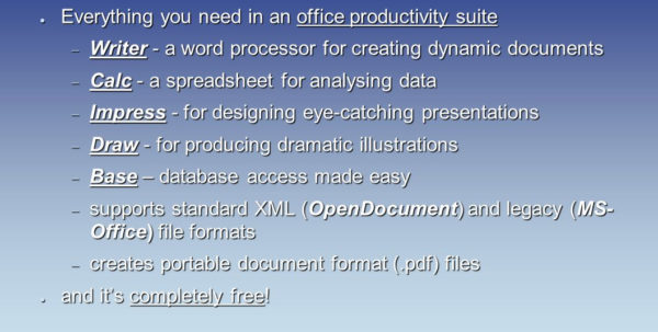 How To Create A Database In Openoffice From Spreadsheet Pertaining To Openoffice 2.2 ○ Everything You Need In An Office Productivity
