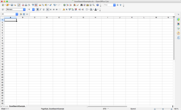How To Create A Database In Openoffice From Spreadsheet With Yhrd : How To Set Up An Excel, Openoffice Or Csvspreadsheet For