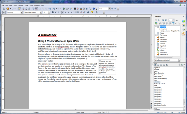 How To Create A Database In Openoffice From Spreadsheet Within Apache Openoffice 4.0 Review: New Features, Easier To Use, Still