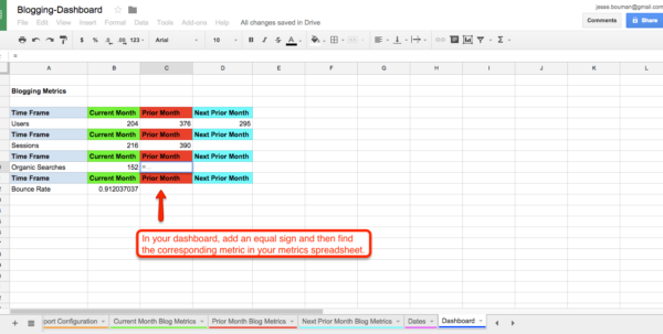 How To Create A Finance Spreadsheet Pertaining To How To Create A Custom Business Analytics Dashboard With Google