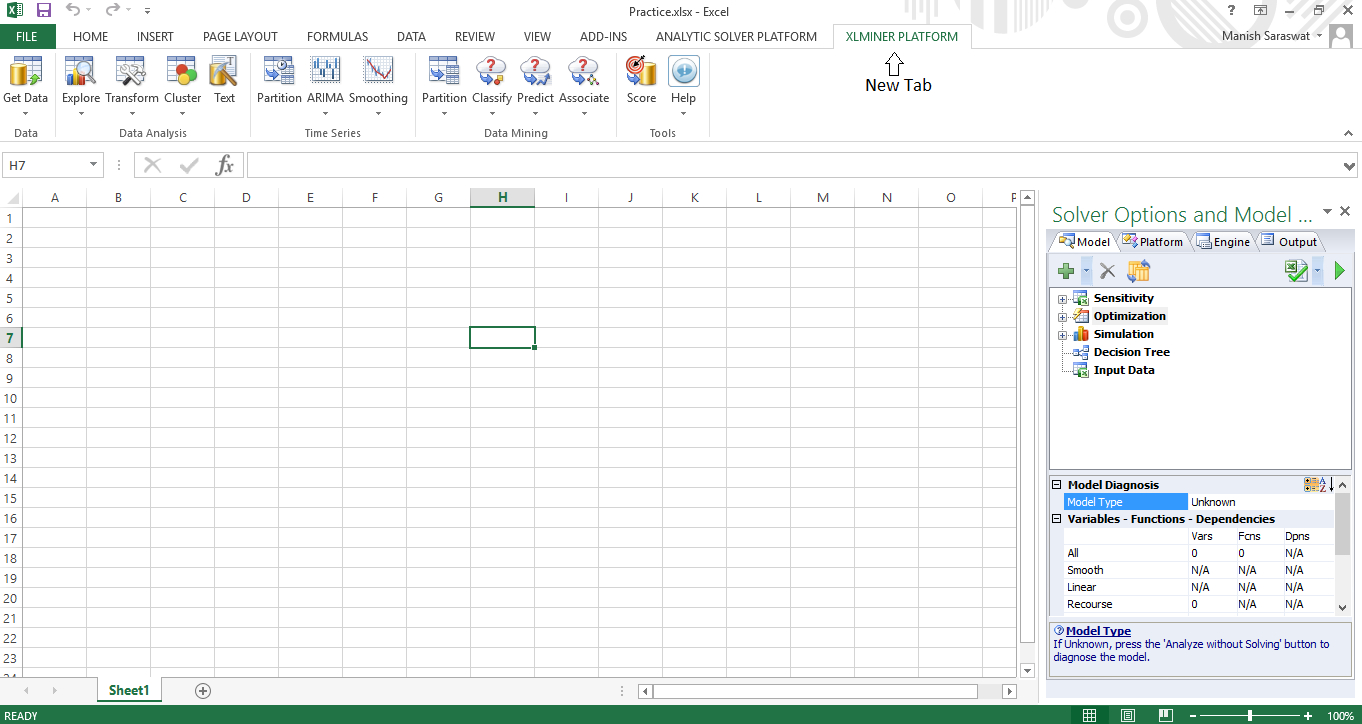 How To Create A Lottery Spreadsheet In Excel Inside Getting Started With Machine Learning In Ms Excel Using Xlminer